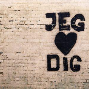 jeg elsker dig graffiti - billeder4you r
