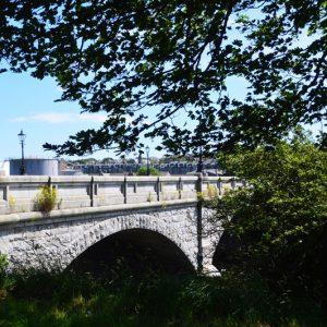 Aberdeen bridge i skotland