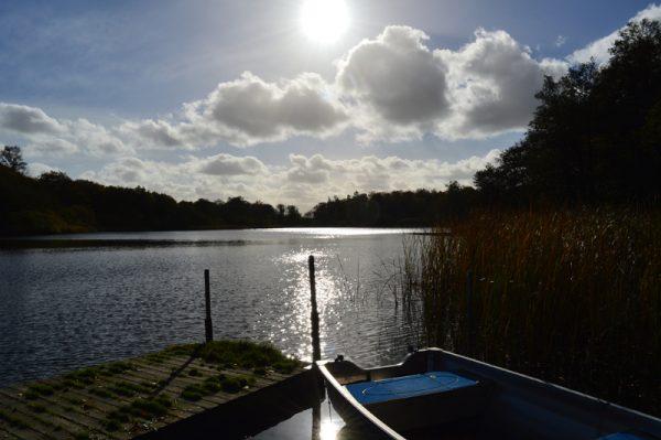 Jels søen - Jelssøerne - Boat in the water