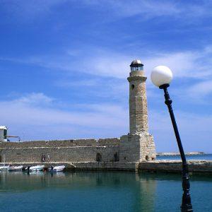 Chania - fyrtårn- lygtepæl- billeder4you