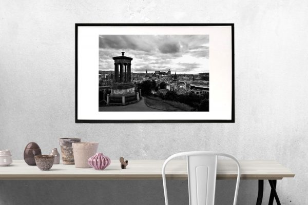 Carltonhill-Edinburgh-sort/hvid-billeder4you