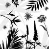 Sort mønster illustration - billeder4you