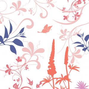 Lyserød mønster illustration - billeder4you
