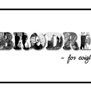 Brødre - for evigt i sort/hvid