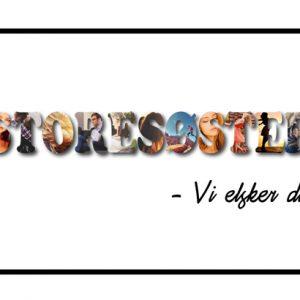 Storesøster - vi elsker dig i farver - Billeder4you
