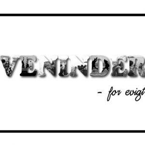 Veninder - for evigt i sort/hvid - Billeder4you
